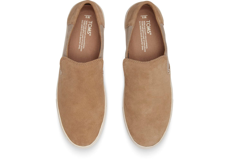 TOMS Suede Lomas Men | Toffee / Desert Taupe (10012540)