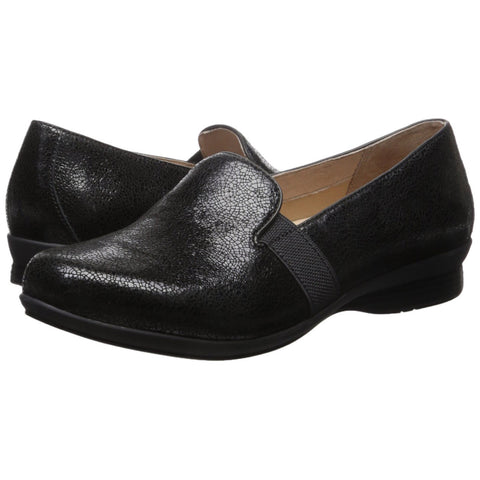 Dansko Addy Women | Black Crackle (6700-360202)
