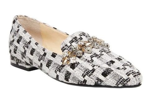 BETSEY JOHNSON Farin Women | Natural Tweed (SB-FARIN)