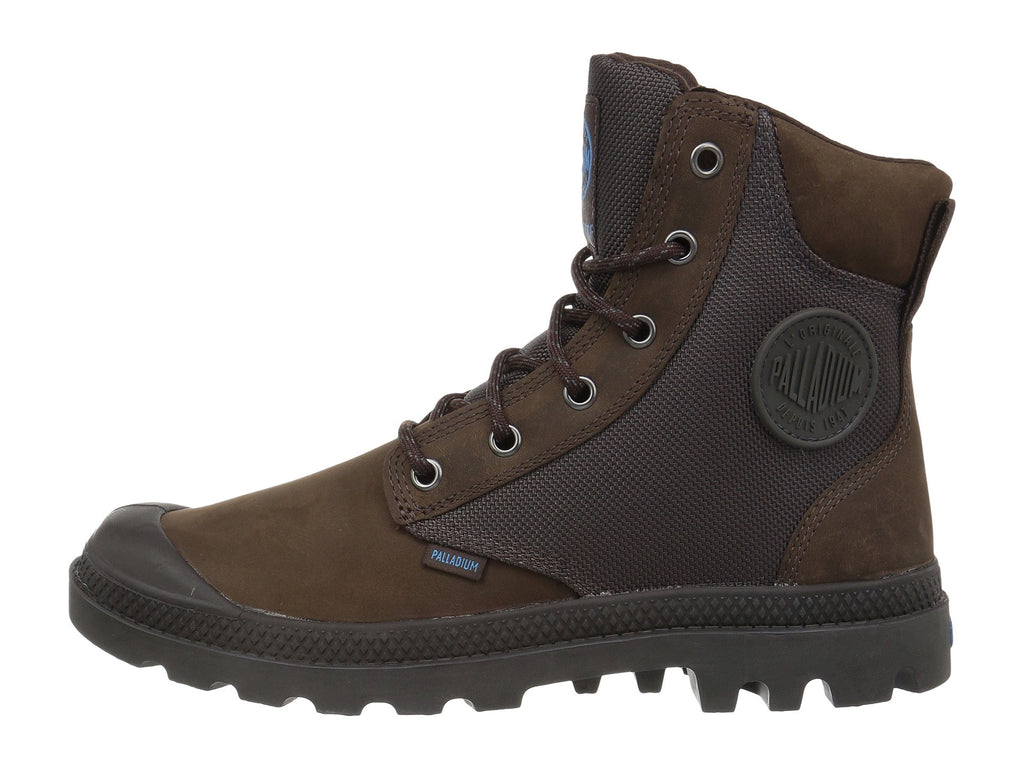 PALLADIUM Pampa Sport Cuff WPN Women | Chocolate/Forged Iron (73234-246-M)