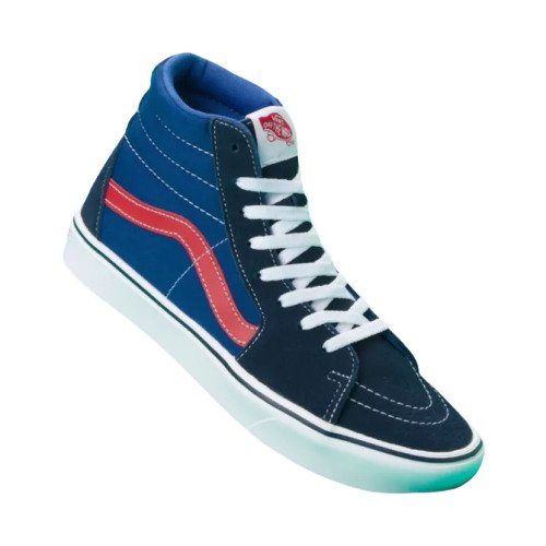 VANS TriTone ComfyCush Sk8-Hi Unisex | Dress Blue/Blue/Red (VN0A3WMB1RP)