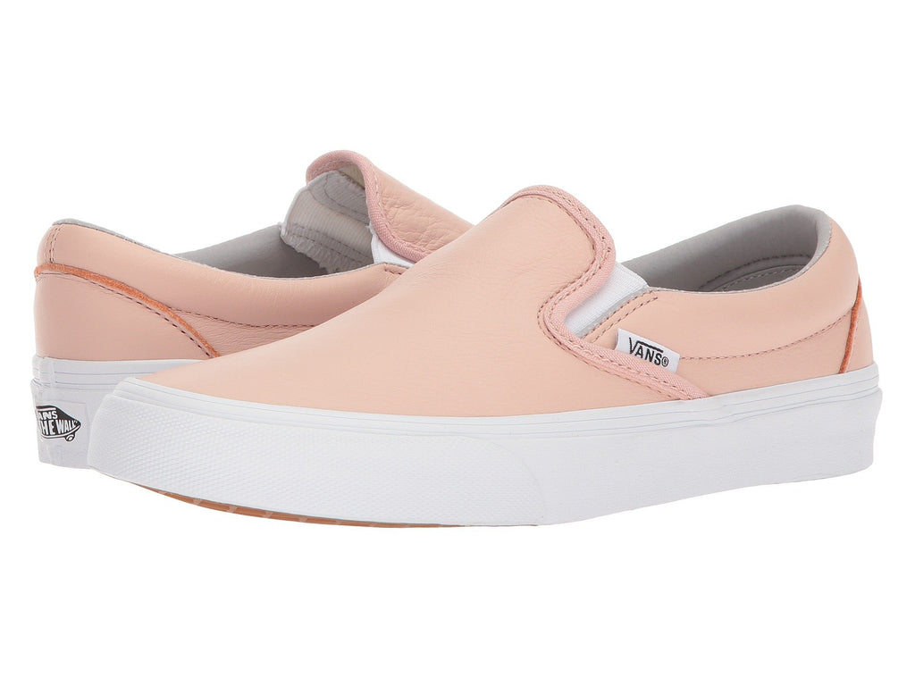 VANS Leather Classic Slip-On Women | Oxford / Evening Sand (8F7QD6).