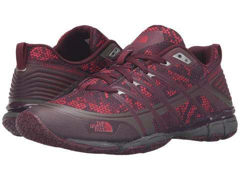 THE NORTH FACE Litewave Ampere Women | Deep Garnet Red Triangle Party Print / Melon Red (1NPE)