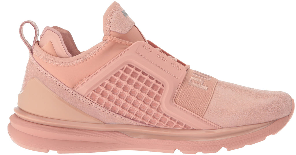 PUMA Women's Ignite Limitless Metallic Suede | Peach / Beige (19096502)