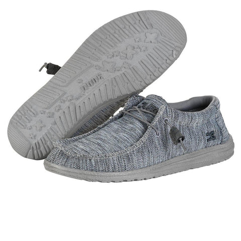 HEY DUDE Wally B Sox Men | Grey (11033000)
