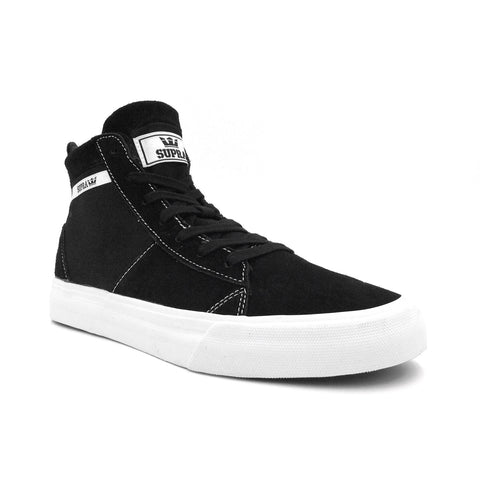 SUPRA Stacks Mid Men | Black / White (05903-002-M)