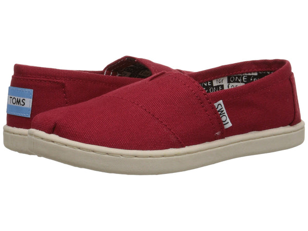 TOMS Canvas Original Youth | Red (012001C13)