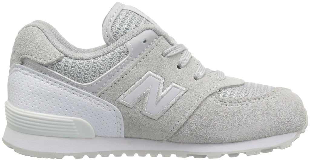 NEW BALANCE 574 Kids | Grey / White (KL574C9G)
