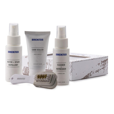 BIRKENSTOCK Deluxe Shoe Care Kit | White (40006)