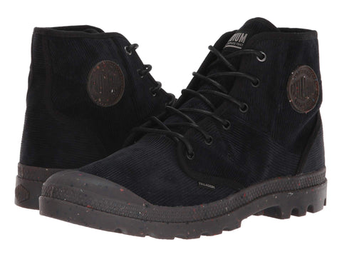 PALLADIUM Pampa Hi Corduroy Men | Black / Black (105976)
