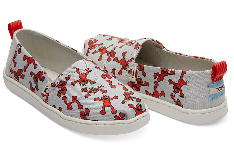 TOMS Sesame Street X Elmo Youth | Light (10013638)