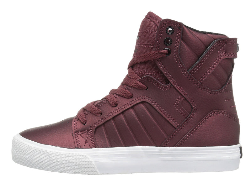 SUPRA Skytop Youth/Kids | Burgundy/White