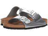BIRKENSTOCK Arizona BS Women | Metallic Silver (0752711)