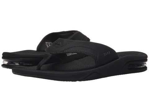 REEF Fanning Men | All Black (RF002026)