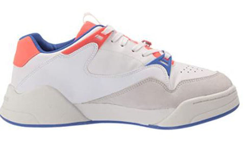 LACOSTE Court Slam 07213 SFA Women | White/Blue (7-41SFA0061080)