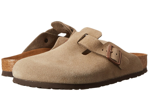 BIRKENSTOCK Boston Soft Footbed Women | Taupe (0560773) (9)