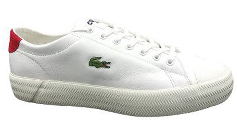LACOSTE Gripshot 120 Men | White/Red