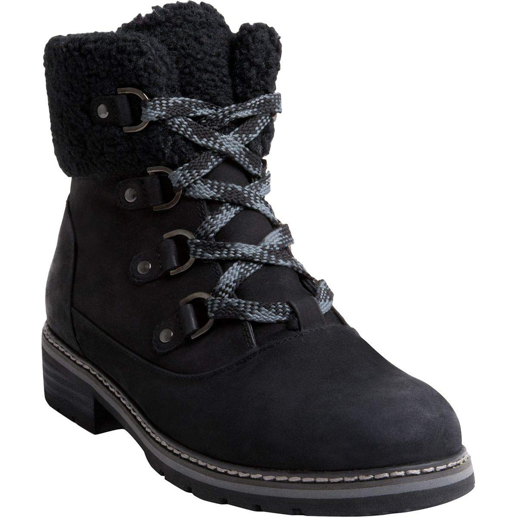 BLONDO Vanessa Women | Black Nubuck (B5673)