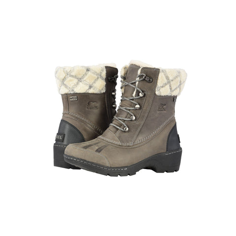 SOREL Whistler Mid Women | Quarry / Black (1809081)