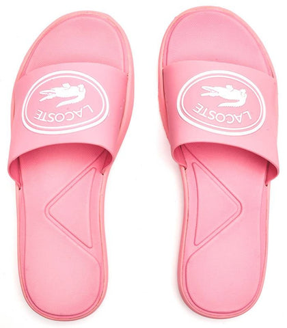 LACOSTE L.30 Slide 119 CFA Women | Light Pink/White (20208)