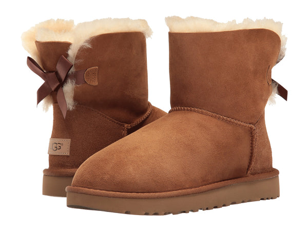 UGG Mini Bailey Bow II Women | Chestnut (1016501)