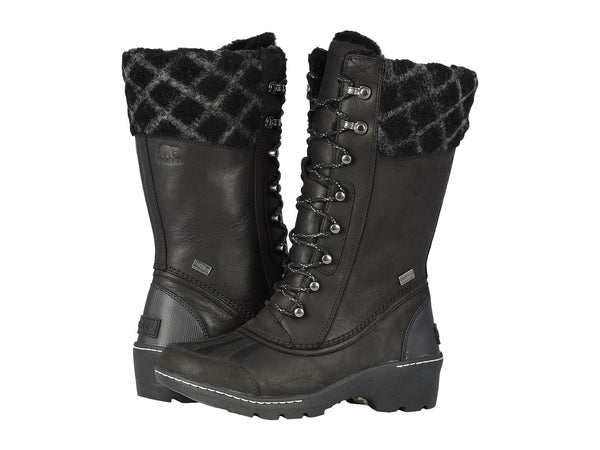 SOREL Whistler Tall Women | Black/Dark Stone (1809091)