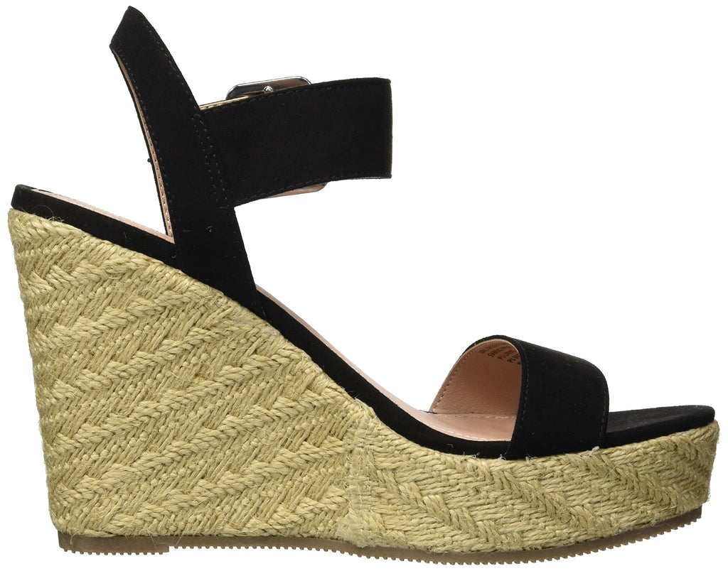 MADDEN GIRL Vail Espadrille Wedge Women | Black Fabric (VAIL01J1019-AJ)