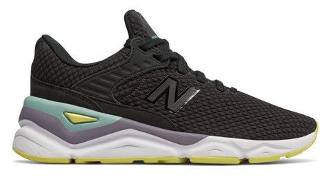NEW BALANCE X-90 Textile Women | Black/Lemonade (WSX90CLD)