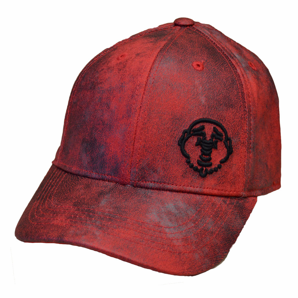 TRUE RELIGION Coated Cap | True Red (TR2185)