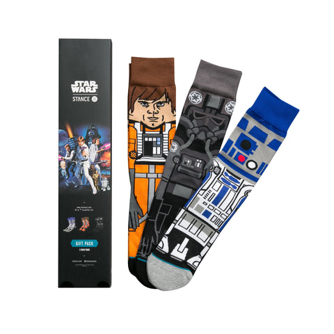 STANCE A New Hope Sock Gift Set Men | Black (M545D16ANE)