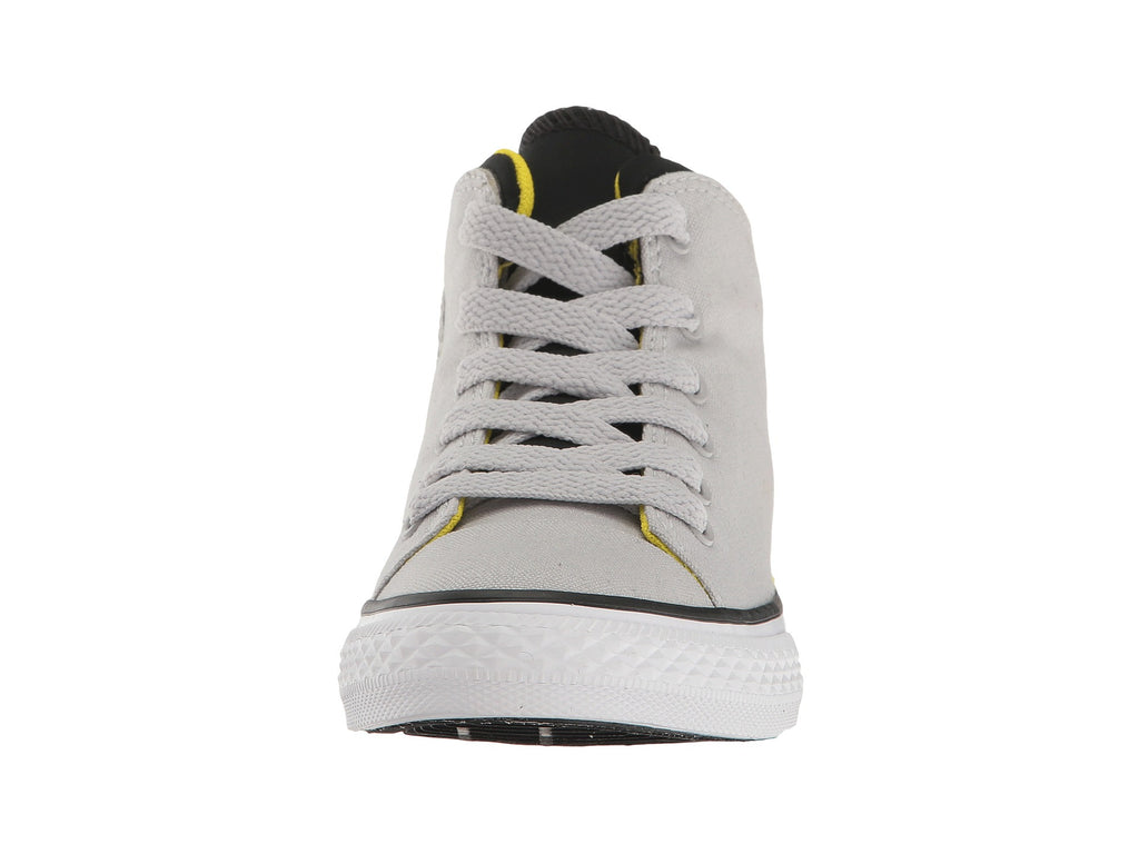 CONVERSE Chuck Taylor Official Mid Kids | Ash Grey / Black / Yellow (656073F)