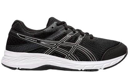 ASICS Contend 6 Kids | Black/White (1014A086)
