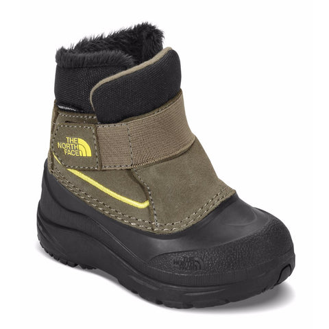 THE NORTH FACE Alpenglow Toddler | Burnt Olive Green / Acid Yellow