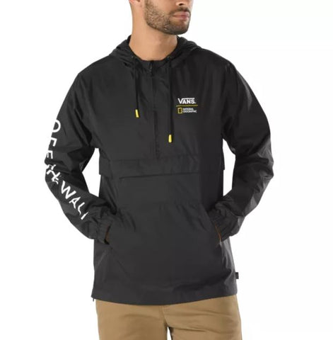 VANS National Geographic Anorak Men | Black (VN0A4MULBLK)