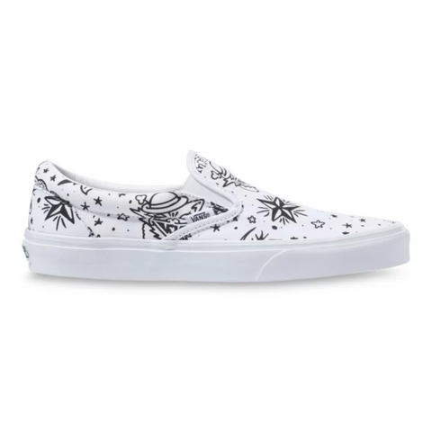VANS U-Color Classic Slip-On Unisex | Tattoo/True White (VN0A4BV31IU)
