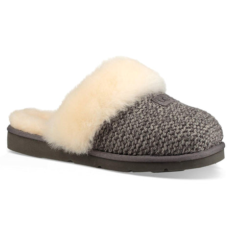 UGG Cozy Knit Slipper Women | Charcoal (1095116)