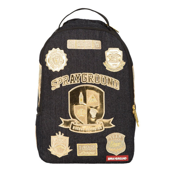 SPRAYGROUND Ivy League Backpack | Black / Gold (910B1136NSZ)