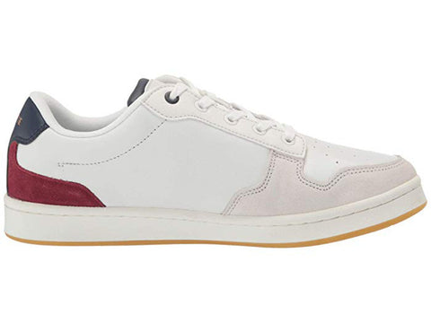 LACOSTE Masters Cup 319 2 SMA Men | Off White/Navy/ Dark Red (7-38SMA0037OND)