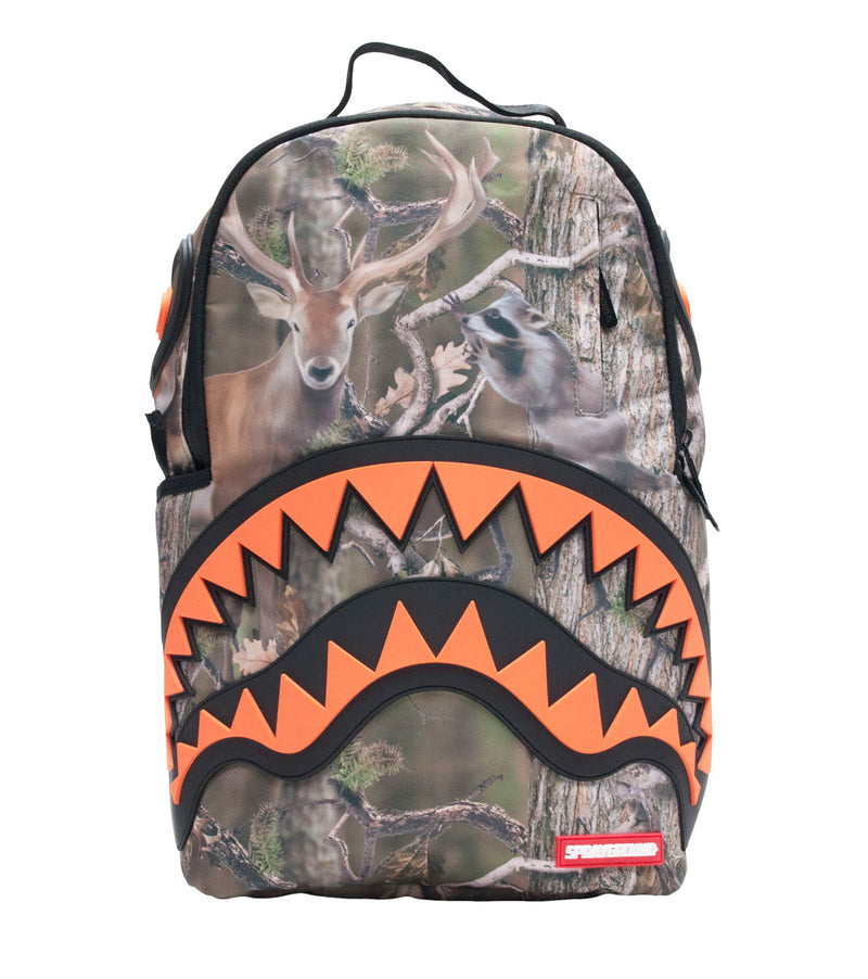 SPRAYGROUND Hunter Rubber Shark Backpack | Green (910B1139NSZ)