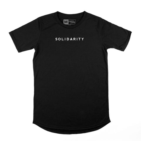 ELECTRIC FAMILY Solidarity Scoop Tee Men | Black
