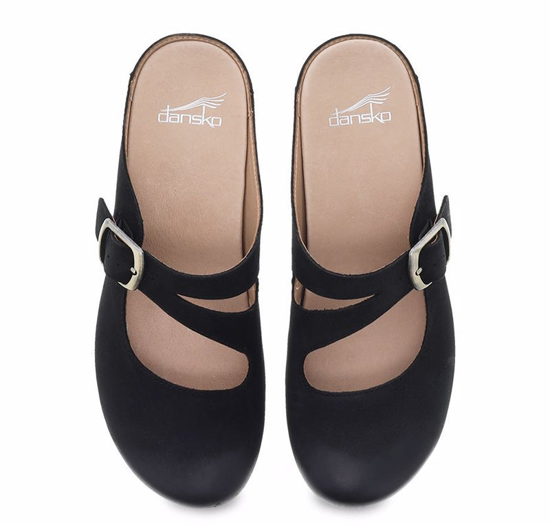 DANSKO Britney Burnished Nubuck Women | Black (9422-471600)