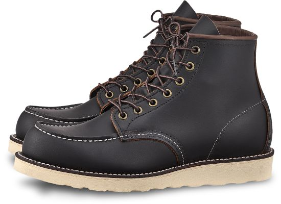 RED WING Classic Moc 6'' Men | Black (8849)