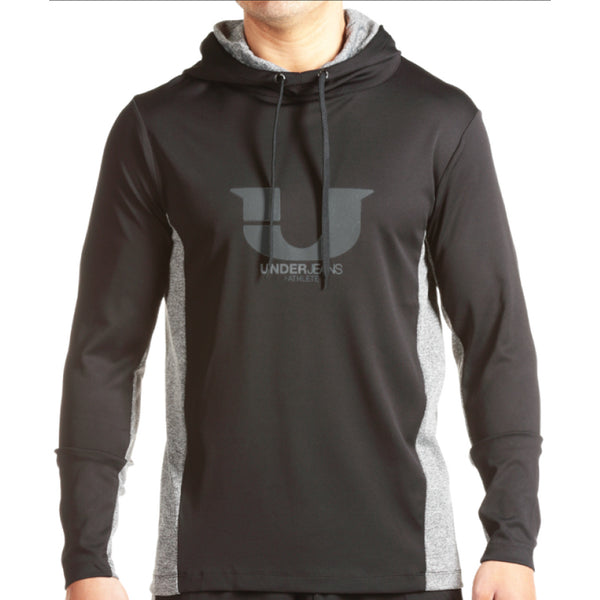 JUNK UNDERJEANS Shade Hoodie Men | Black (MT-35505)