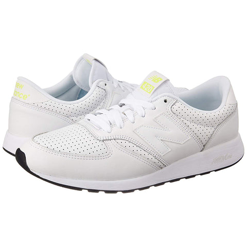NEW BALANCE 420 Men | White / Lime (MRL420SJ)