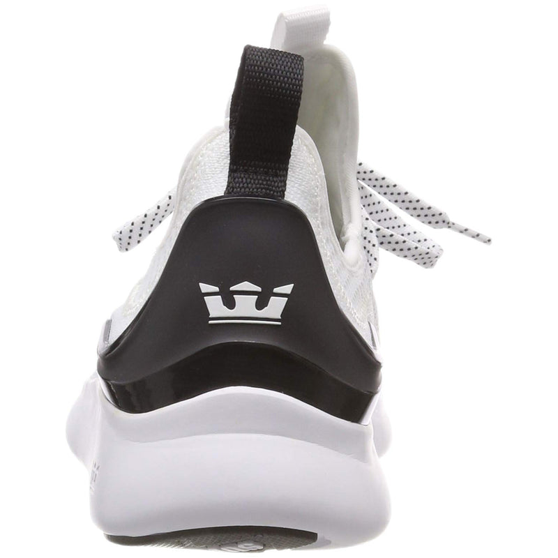 SUPRA Factor Men | White / Black / White (05895-169-M)