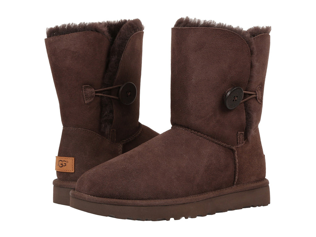 UGG Bailey Button II Women | Chocolate (1016226)