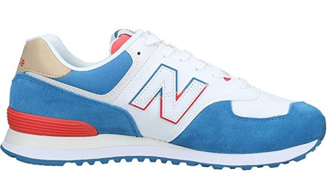 NEW BALANCE 574 Spilt Sail Men | Mako Blue/ Toro Red (ML574SCF)