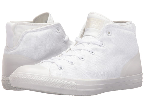CONVERSE Chuck Taylor Syde Street Mid Women | White / White / White (155490C)