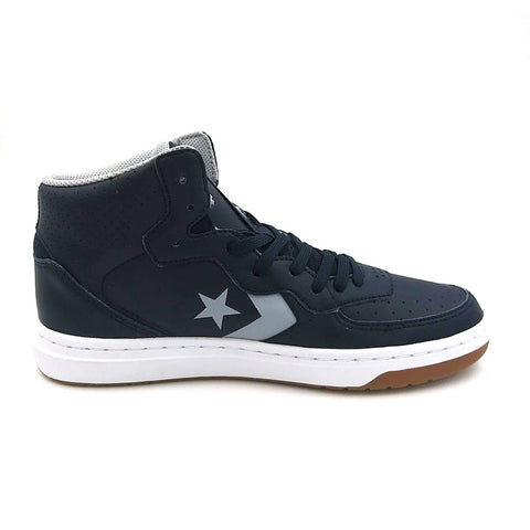 CONVERSE Rival Mid Unisex | Obsidian Wolf Grey/White (166084C)