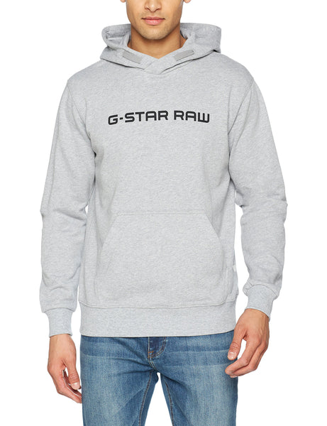 G_STAR RAW Loaq Hoodie Men | Grey Heather (D08478-9842-906)